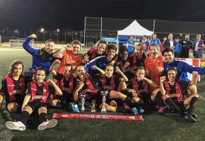 L'Infantil Femení, campió del Torneig de Futbol Femení Ciutat de Martorell