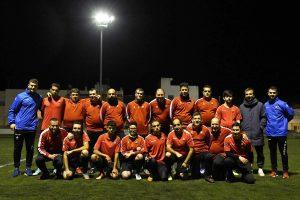 L'equip Genuine del Reus fa l'últim entrenament abans de marxar cap a Tarragona