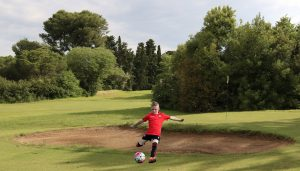 Els equips de Futbol 7 jugaran a 'footgolf' al Gaudí Reus Golf aquest cap de setmana