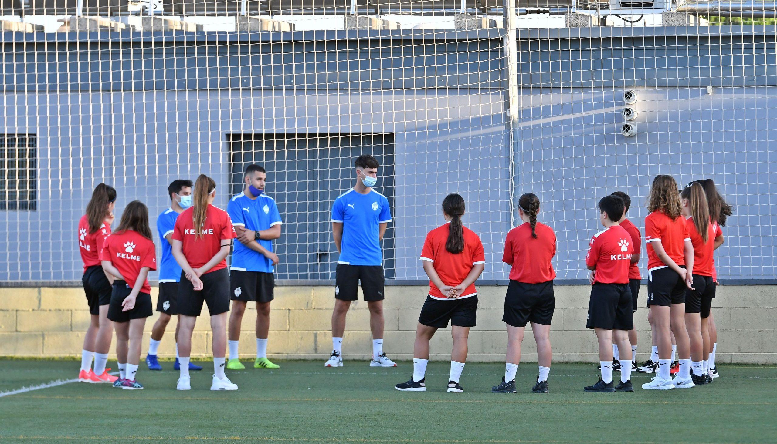 Cadet i Juvenil femení comencen els entrenaments