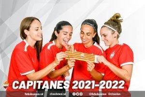 Presentades les capitanes del primer equip roig-i-negre